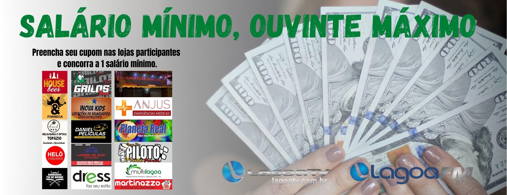 Promoção Salário Mínimo, Ouvinte Máximo!